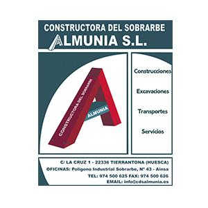 CONSTRUCTORA DEL SOBRARBE ALMUNIA