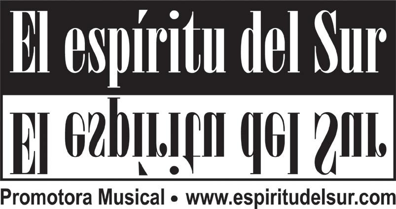 CONCIERTOS EN CASA CON LA PROMOTORA MUSICAL EL ESPÍRITU DEL SUR