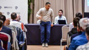Nacho Ambriz, protagonista del inicio de temporada de SDH Empresas